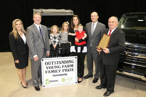 McGill family presented with John Deere Gator