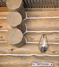 Porch lamp