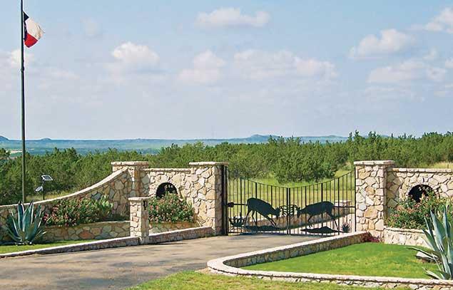 Making an entrance for Ranch entrances ideas