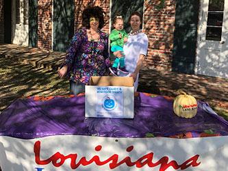 Louisiana Land Bank booth at Witchey Way