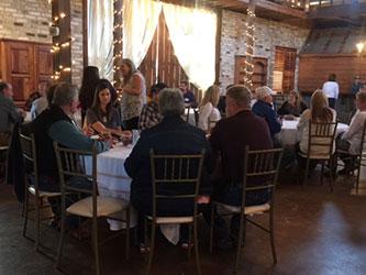 Hammond customers enjoy dinner