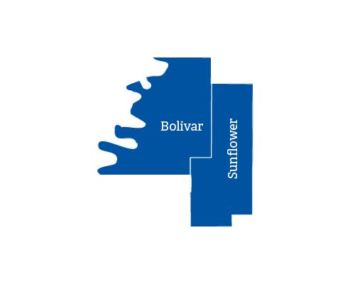 Indianola map