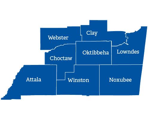 Starkville map