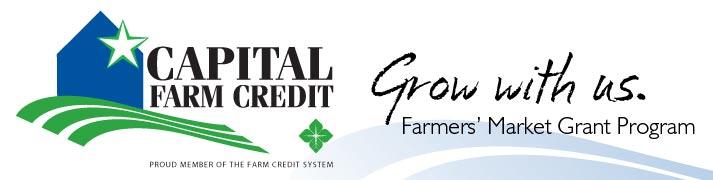 Capital Farm Credit Farmers Market Grant Program
