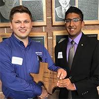 Lone Star Ag Credit Scholarship awarded to Neeraj Bhakta