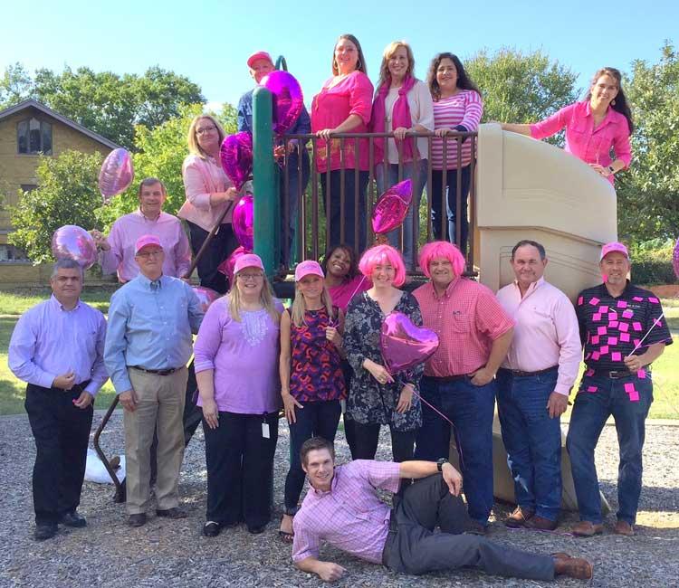 Break Cancer Awareness month gathering